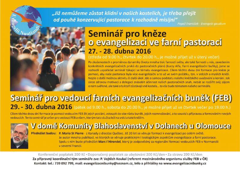 Plakátek semináře